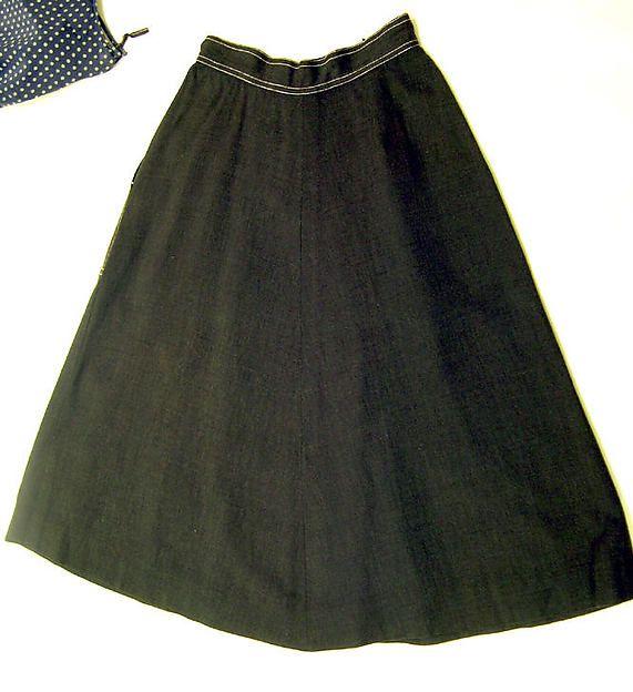 Claire McCardell - Ensemble - cotton, rayon - 1944 (3/5)