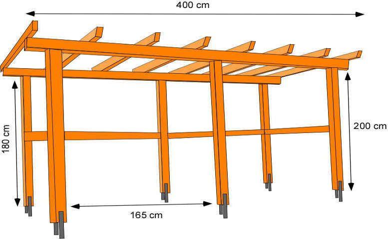 pergola bausatz anleitung 14 sthetische gestaltungsideen gartenlaube pinterest pavillon. Black Bedroom Furniture Sets. Home Design Ideas