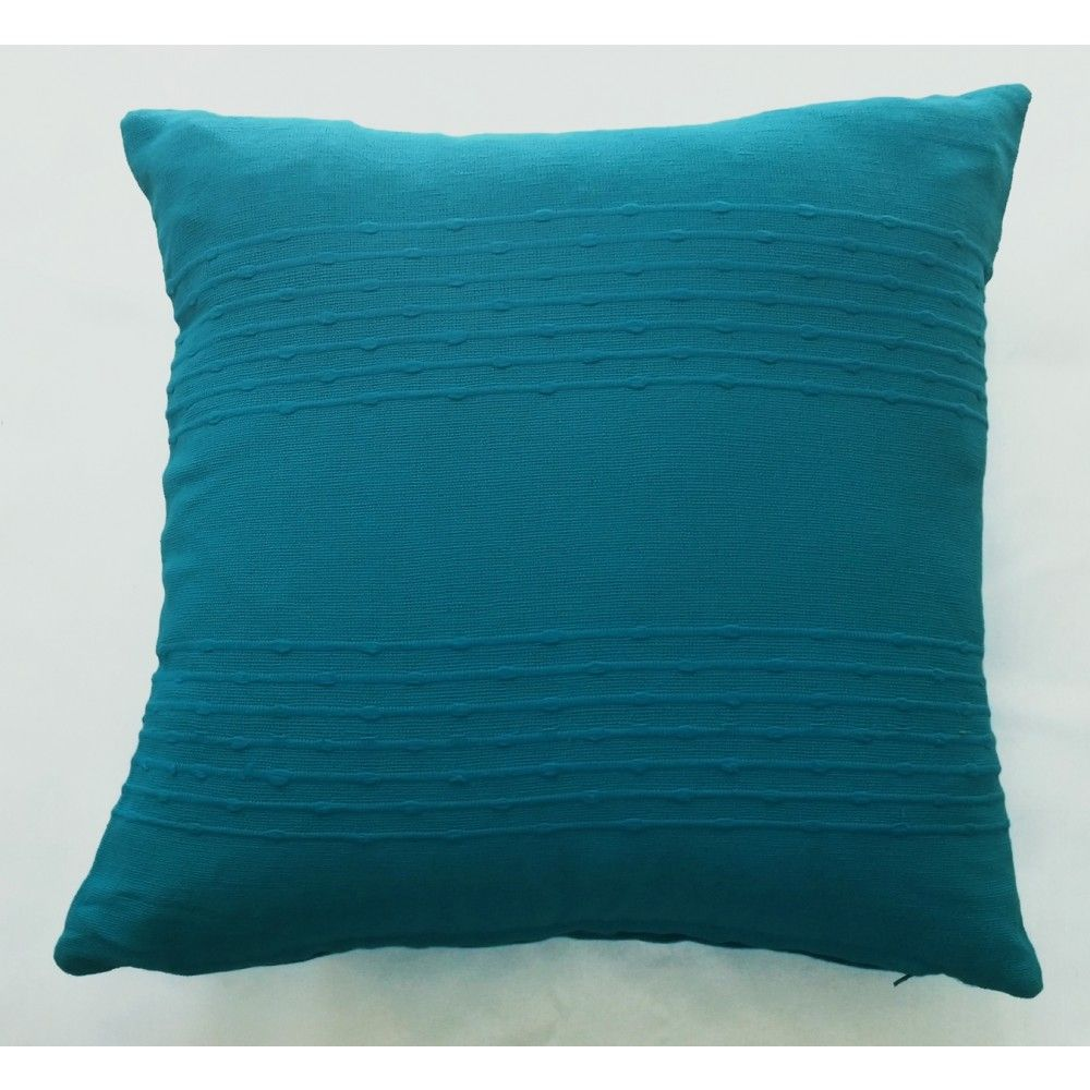 Bamboo Design Cushion Cover - Light Blue (40cm x 40cm) - Mode Alive - Home Decor Heaven