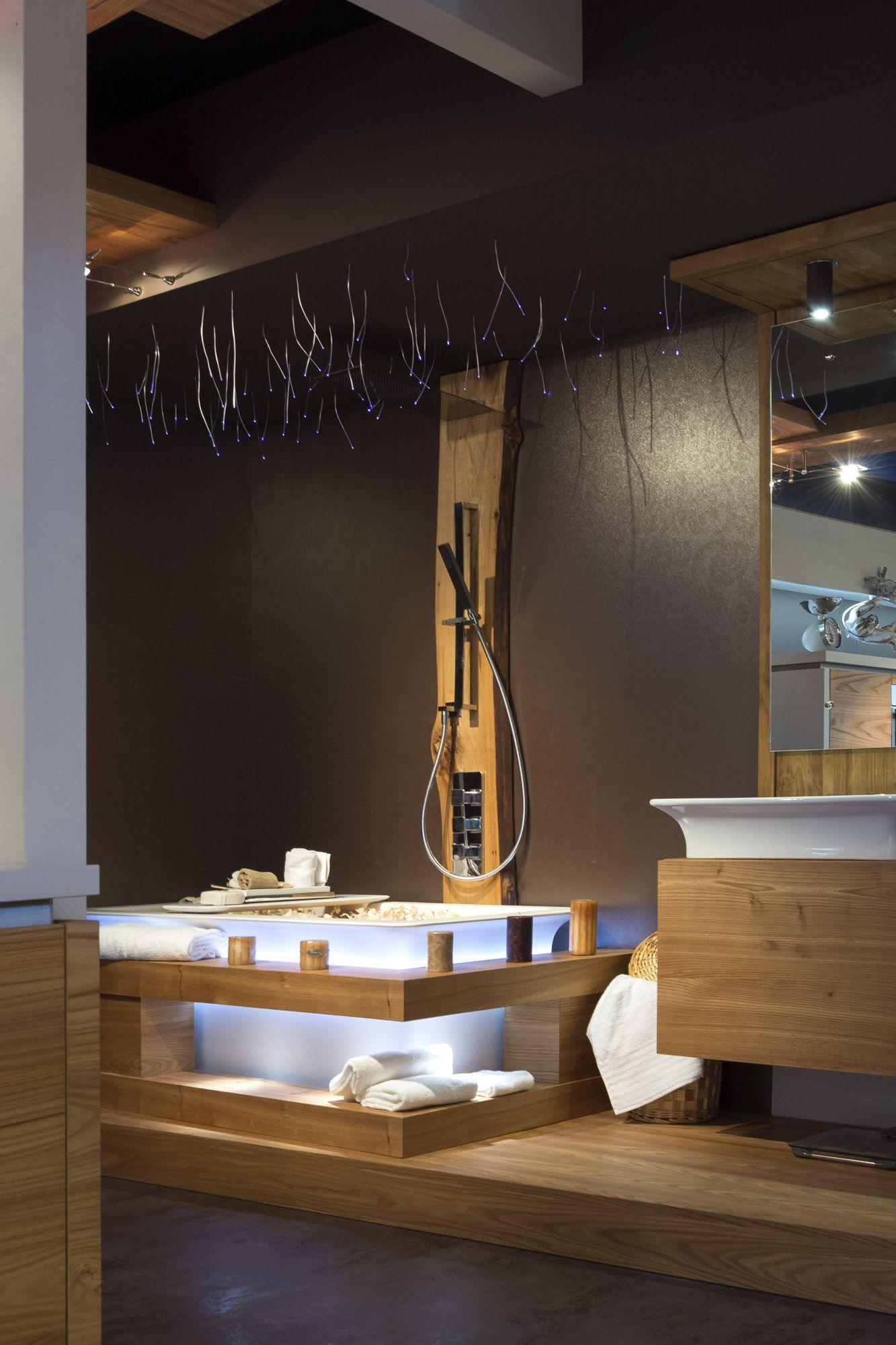 Bagno relax realizzato dalla falegnameria ivo fontana mobili di belluno made in italy - Arredo bagno belluno ...