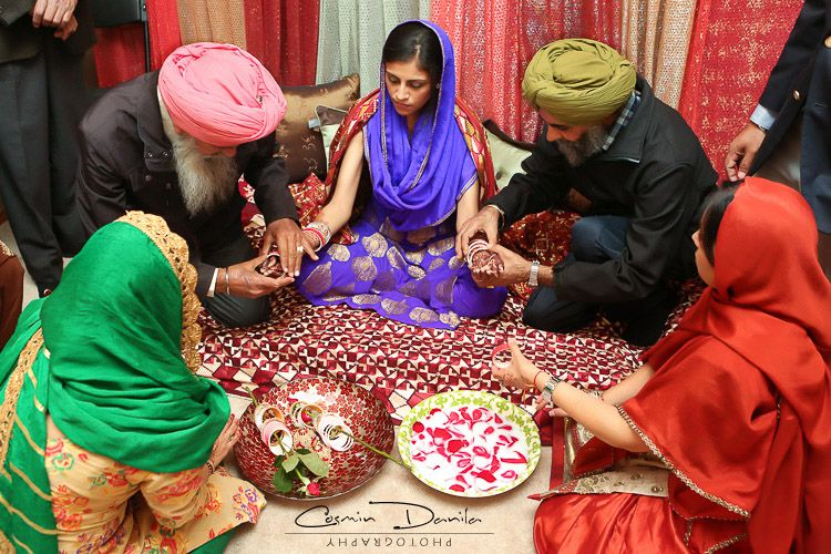 Can You Find Parjeet In Kirans Palm Punjabi Wedding Rituals Calgary