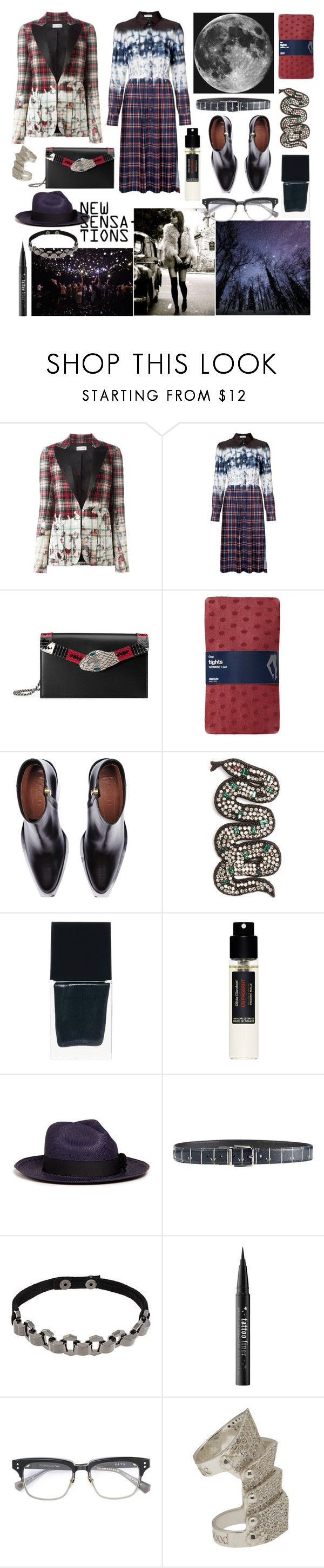 """secret moonlight"" by nothingisnormal ❤ liked on Polyvore featuring Faith Connexion, Altuzarra, Gucci, Gap, Marni, Witchery, Frédéric Malle, Sensi Studio, Dolce&Gabbana and Manokhi"