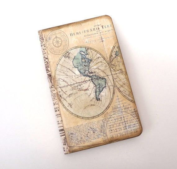 Travel journal old world map travel notebook adventure compass travel journal old world map travel notebook adventure compass antique map travel log vacation journal gumiabroncs Choice Image