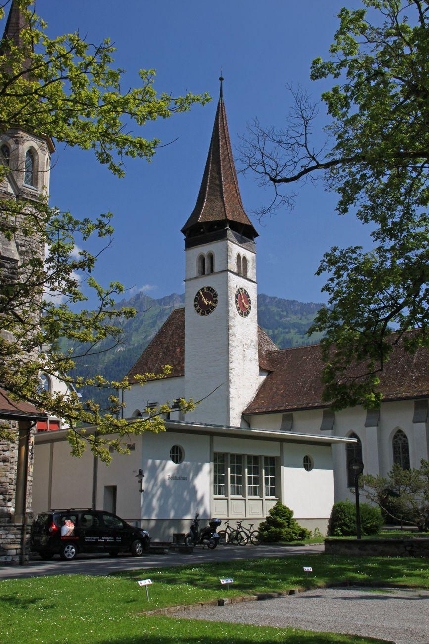 Interlaken Be Switzerland Augustinian Priory Houses Museum Suisse