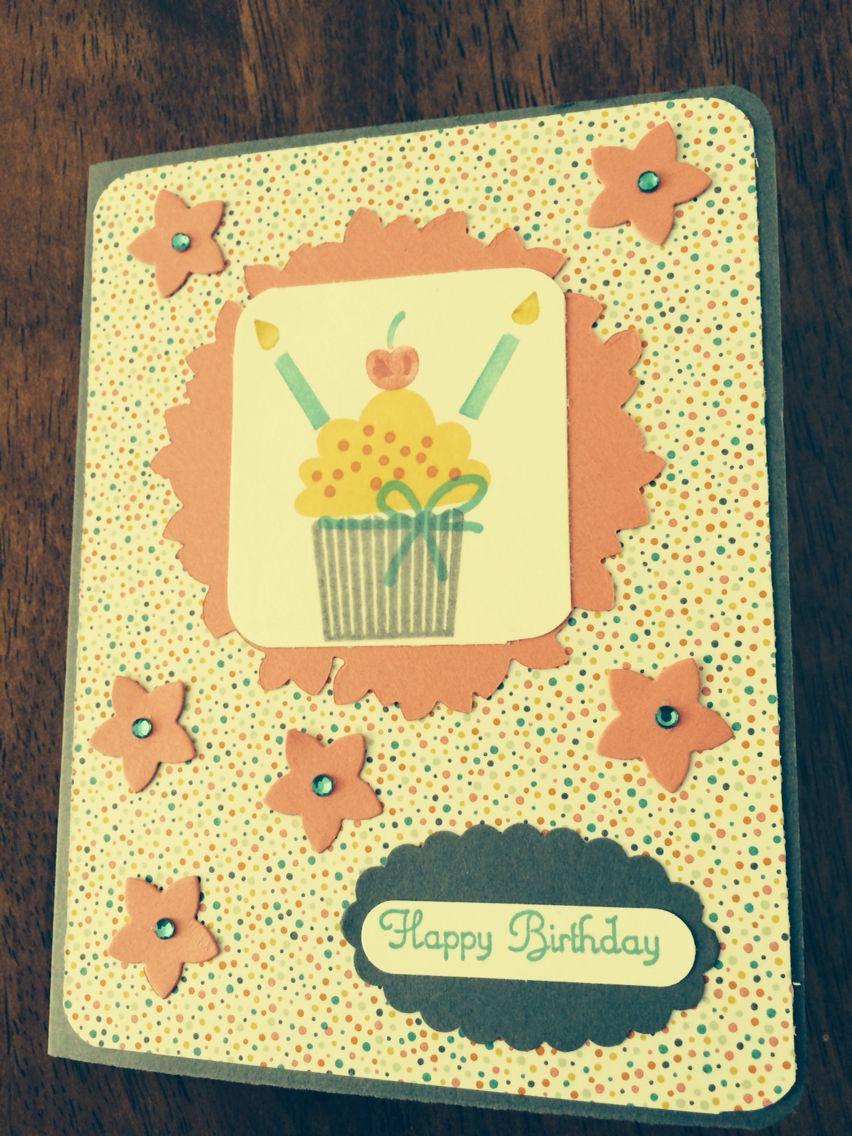 SU birthday card using Wonderous wreath