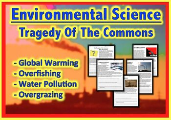 Environmental Science Work Packet Tragedy Of The Common Teaching Resource Elementary Activities Essay By Garrett Hardin Question