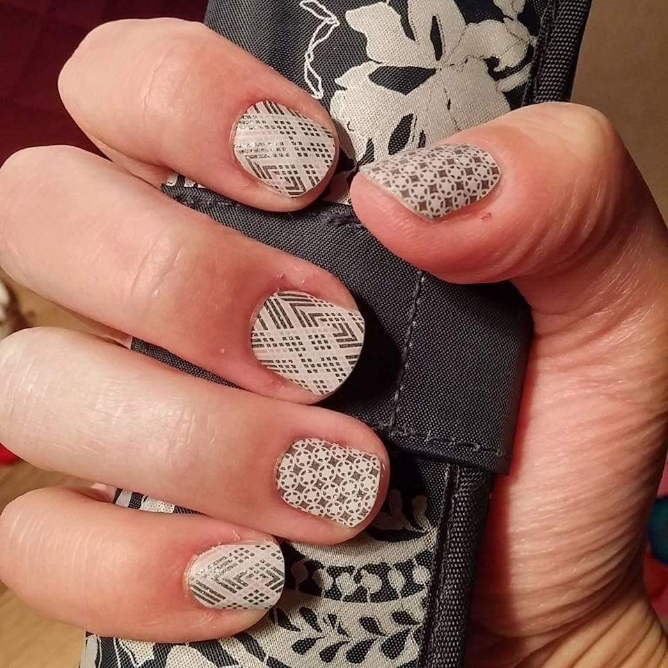 First Frost and Diamond Dust | Jamberry Nail Wraps | Pinterest ...