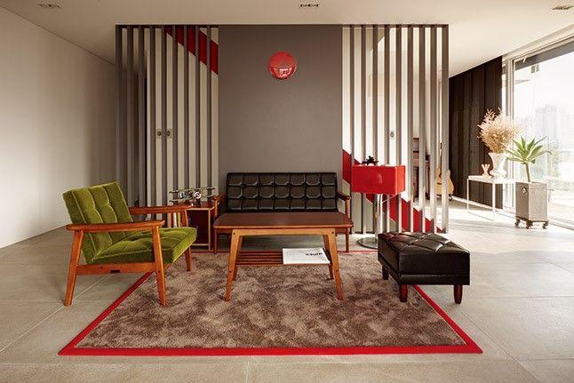 공간 분할이 돋보이는 타운하우스 : 라이프 매거진