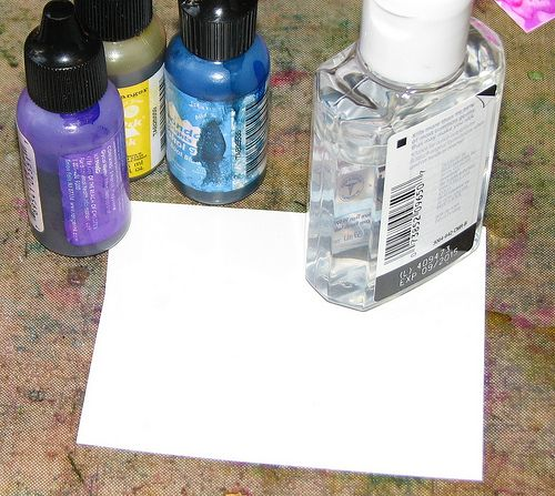 Hand Sanitizer Ai 001 Projects To Try Alcohol Ink Glass