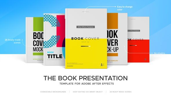 the book presentation kit | book presentation, template and mockup, Powerpoint templates