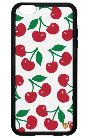 5721dfd3fc4380 Cherries iPhone 6 Plus/6s Plus Case - Wildflower cases   TECH Mate ...