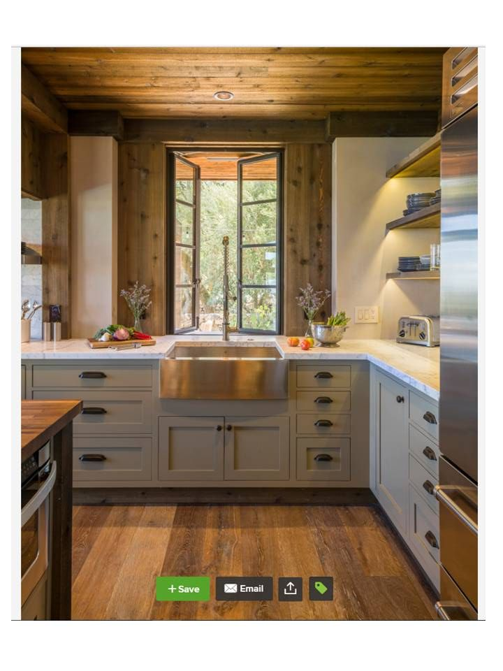 Cabinets Brookhaven And The Color Is Green Stone Benjamin Moore