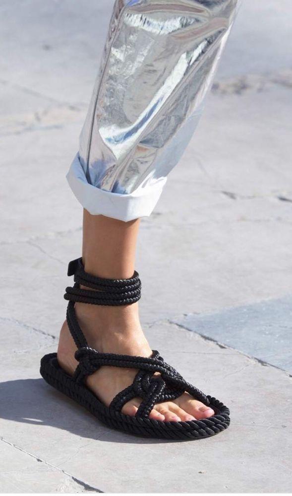 993d319a80d5c ISABEL MARANT Lou rope sandals