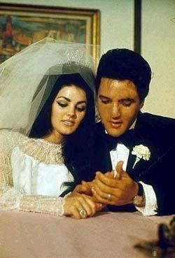 Elvis and Priscilla were married on May 1, 1967, at the Aladdin Hotel in Las Vegas. A press conference was held immediately after the ceremony.
