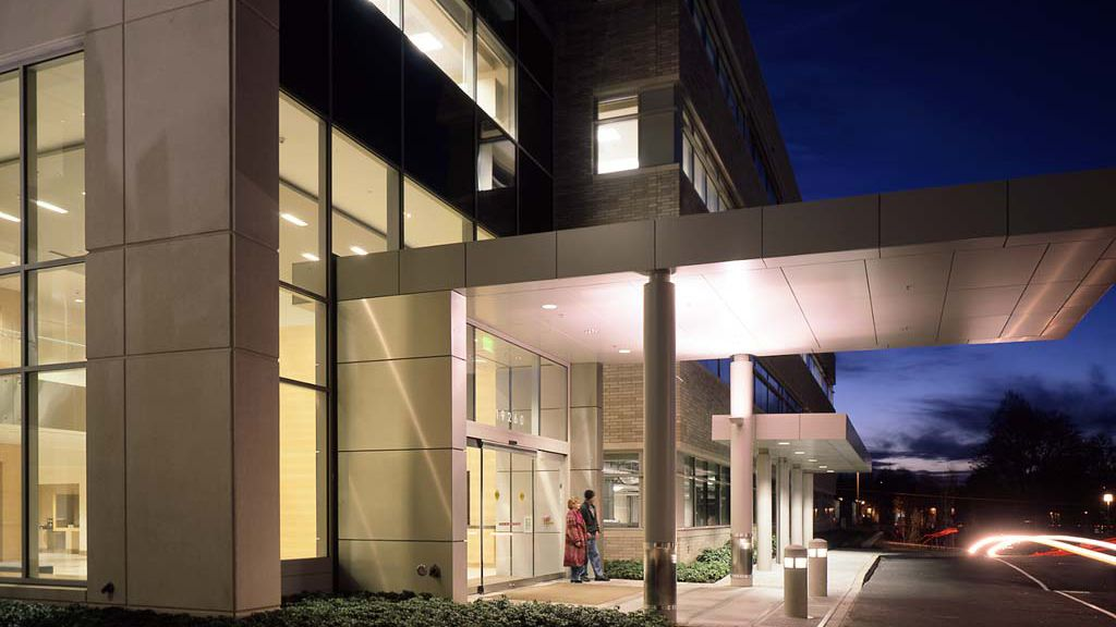 office entrance canopy design  Google Search  office