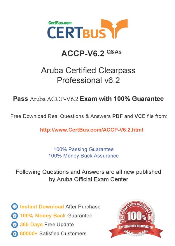 HPE6-A15 Exam Dumps | Aruba Certified ClearPass Professional (ACCP ...