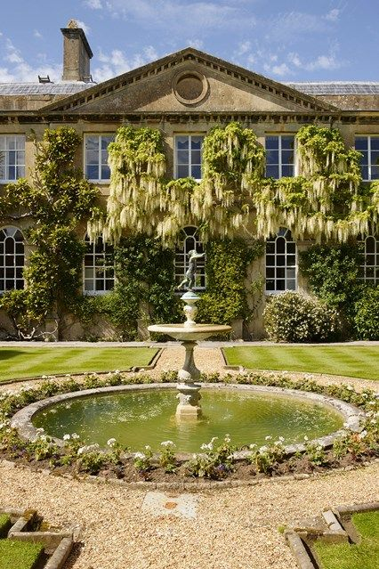 The Garden Fountain At Bowood House An Eighth Century English Country With Grand Robert Adam Interiors And Capability Brown Landscapes Stately