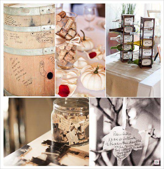 livre d 39 or automne tonneau bouchon liege puzzle bouteille vin mariage automne pinterest. Black Bedroom Furniture Sets. Home Design Ideas