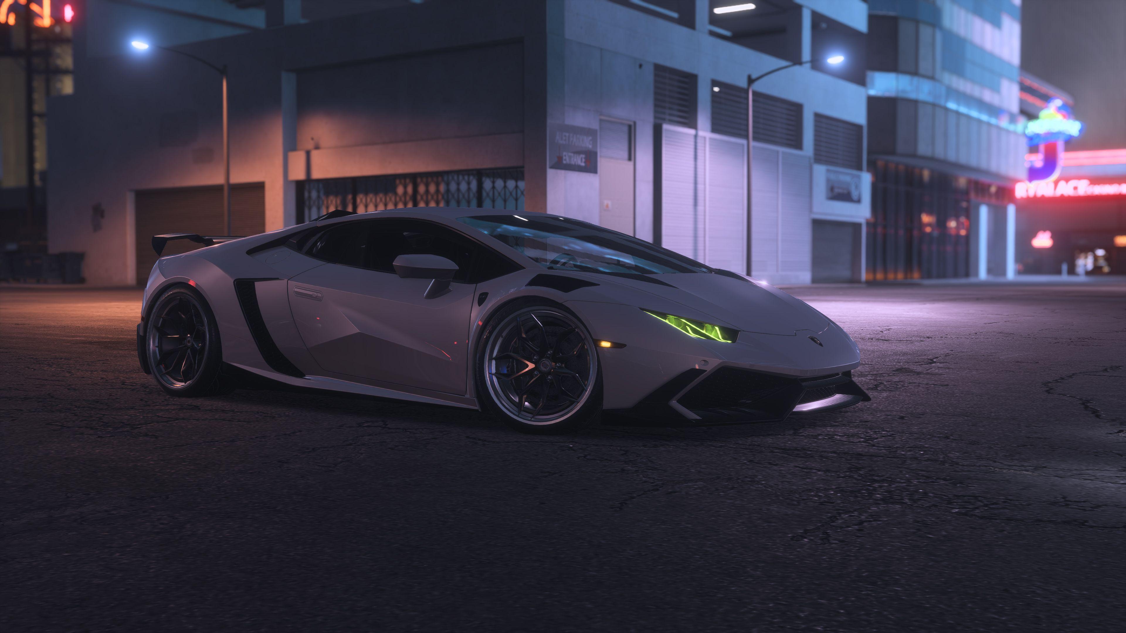 Wallpaper 4k Need For Speed Payback Lamborghini Hurcacan 4k 2018