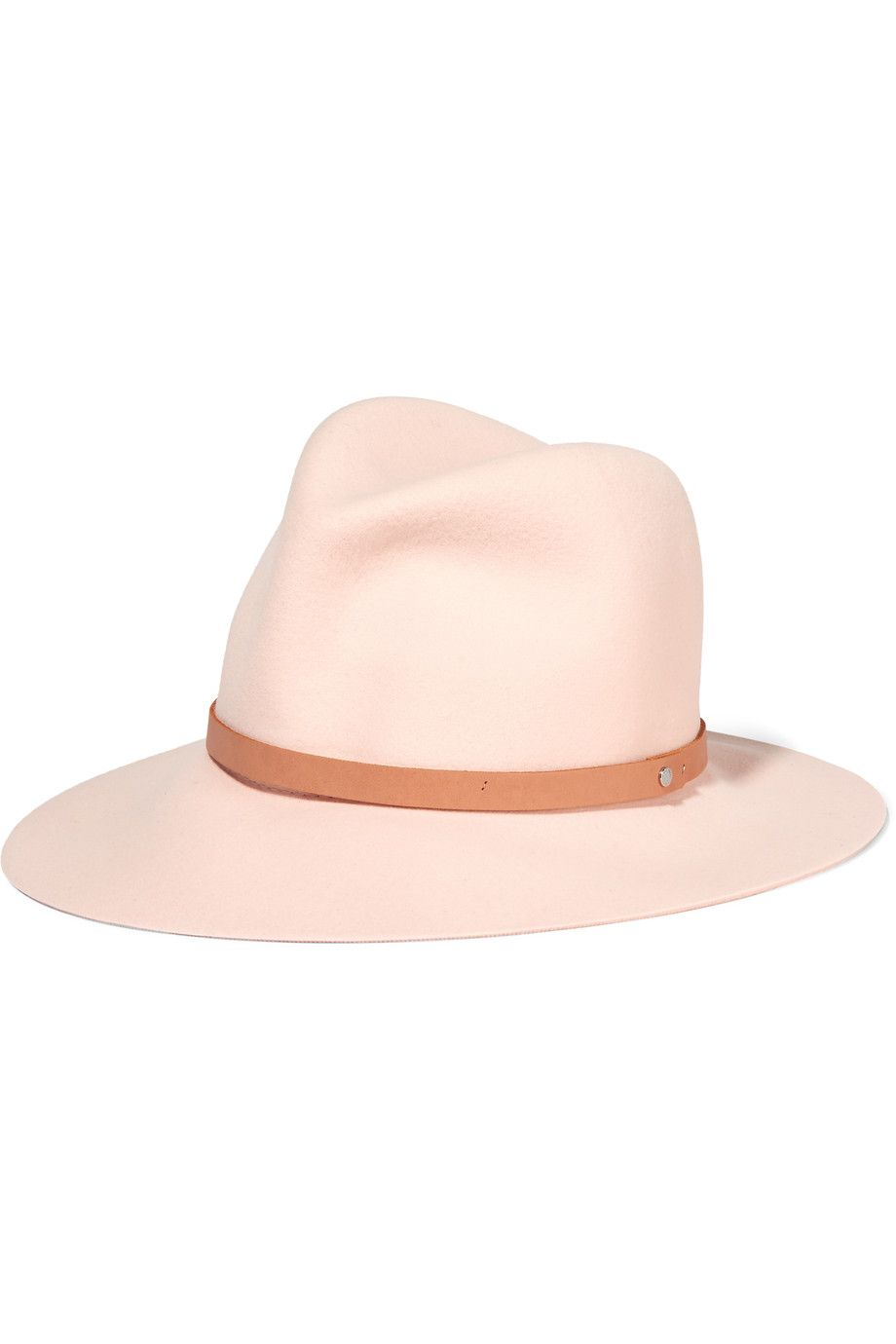 Shop on-sale Rag   bone Wool-felt fedora. Browse other discount designer  Hats   more on The Most Fashionable Fashion Outlet 782e4d1364de