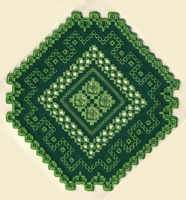 Hardanger Embroidery H149o | Flickr: Intercambio de fotos