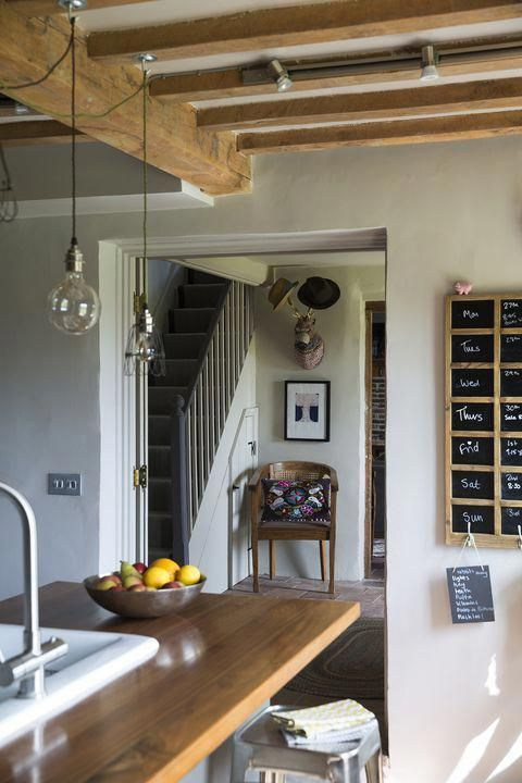 Photo of This Norfolk cottage boasts a natural yet quirky interior