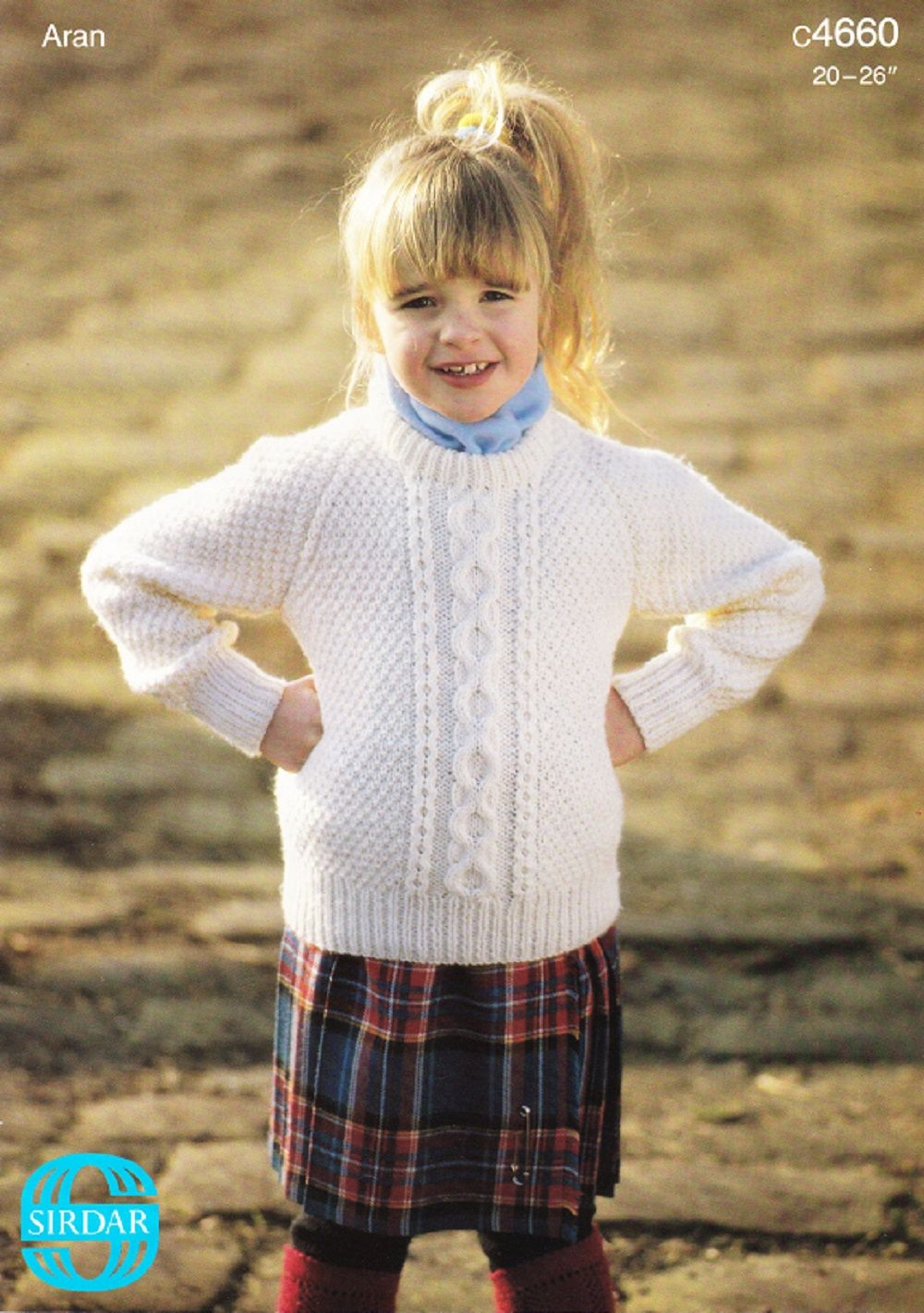 Sirdar knitting pattern 4660 childrens aran sweater sirdar knitting pattern 4660 childrens aran sweater bankloansurffo Image collections