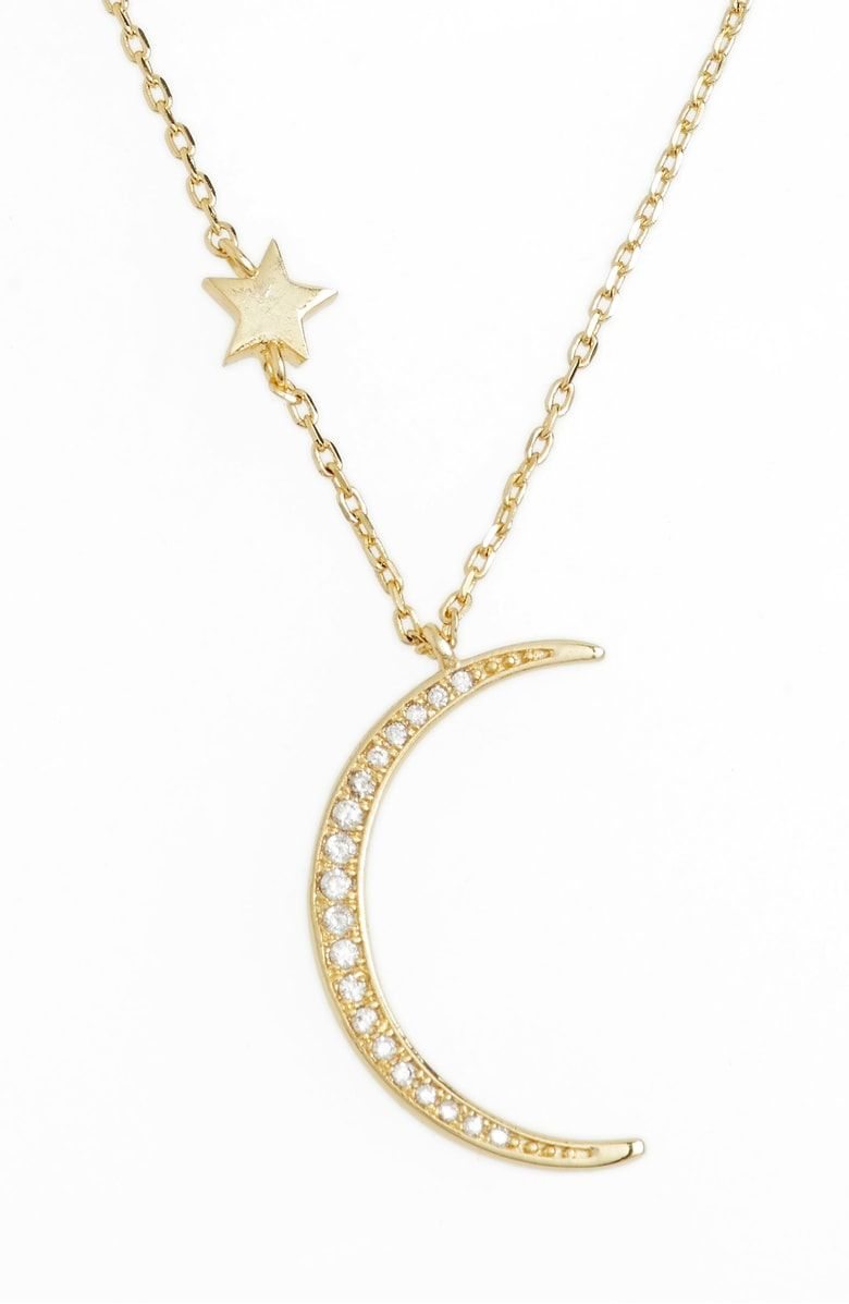 Fairbanks layered pendant necklace main color white cz gold