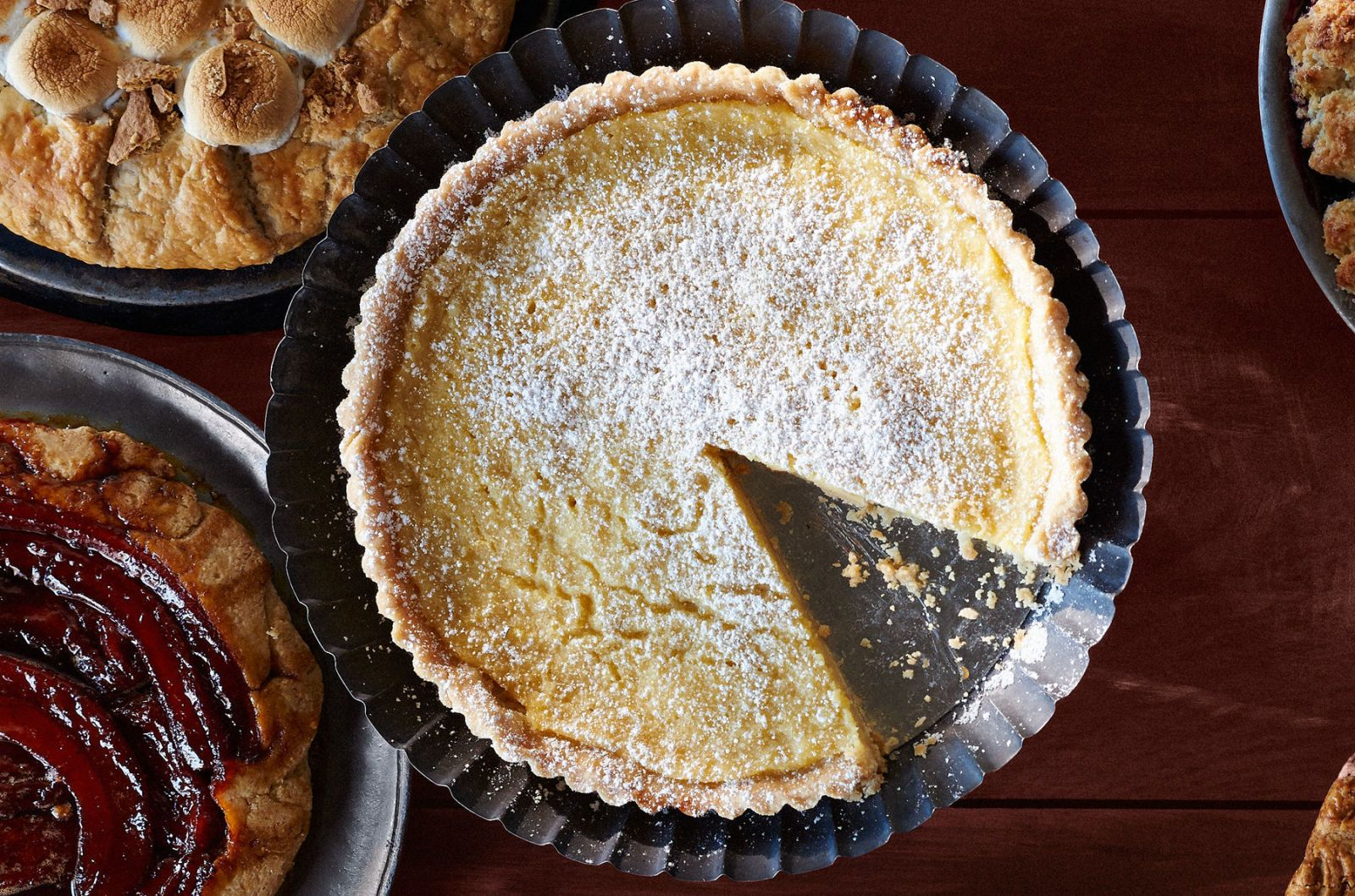 Lemon Buttermilk Tart Recipe Thanksgiving Pie Recipes Buttermilk Tart Lemon Recipes