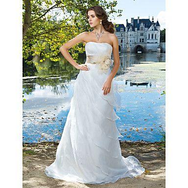 ANDASTRA - Vestido de Novia de Organza – USD $ 249.99