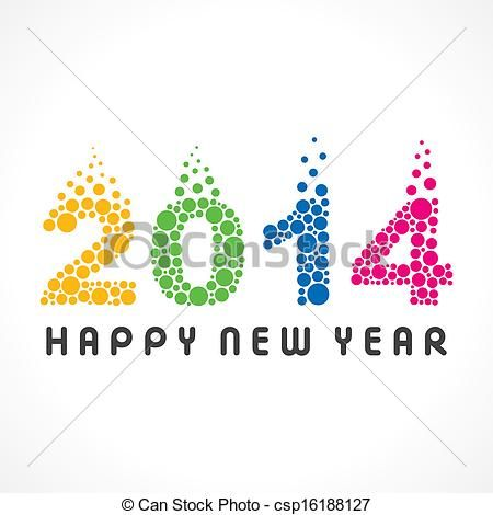 Year 2014 Illustrations and Clip Art. 8,445 Year 2014 royalty free ... happy new year 2014 colorful