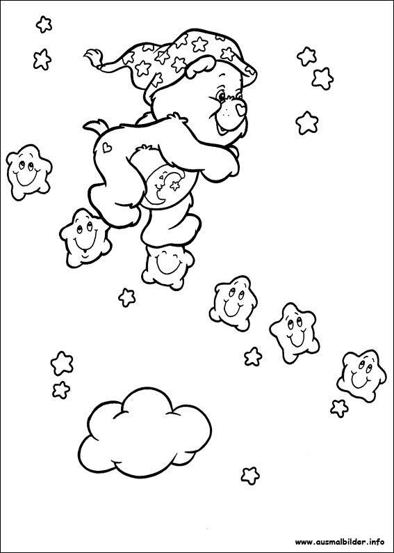Die Glucksbarchis Malvorlagen Bear Coloring Pages Cartoon Coloring Pages Cute Coloring Pages