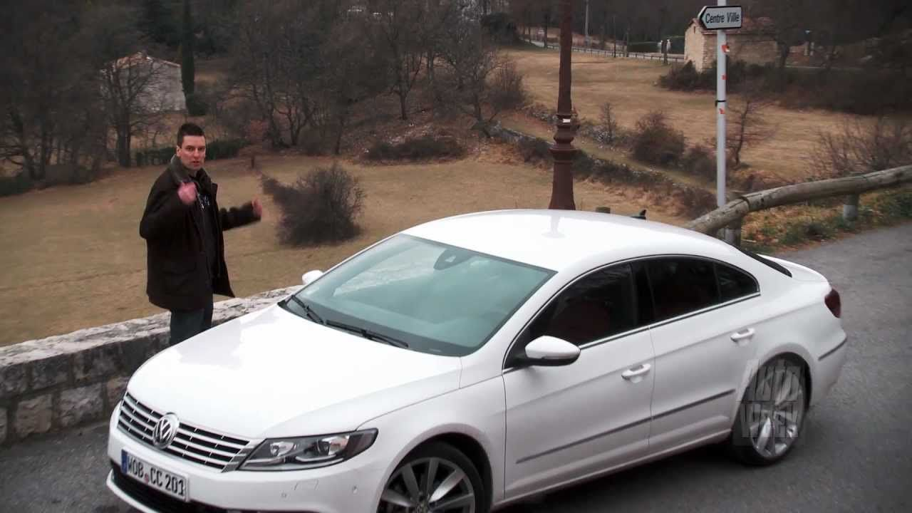 Volkswagen CC roadtest (English subtitled) Volkswagen cc