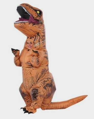 Rubie's Costume Co Jurassic World T-Rex Inflatable Costume Amazon http://amzn.to/2dIYejM