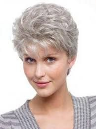 Image Result For Short Curly Hairstyles Grey Hair