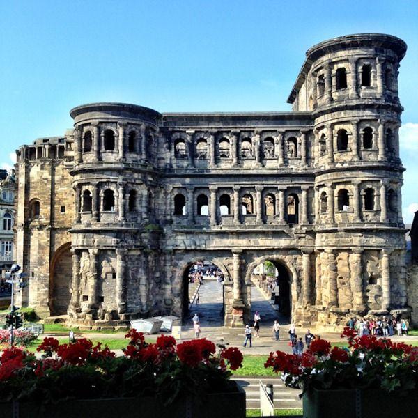 Kaiserthermen (Trier), Germany 49° 44′ 59″ N, 6° 38′ 32″ E