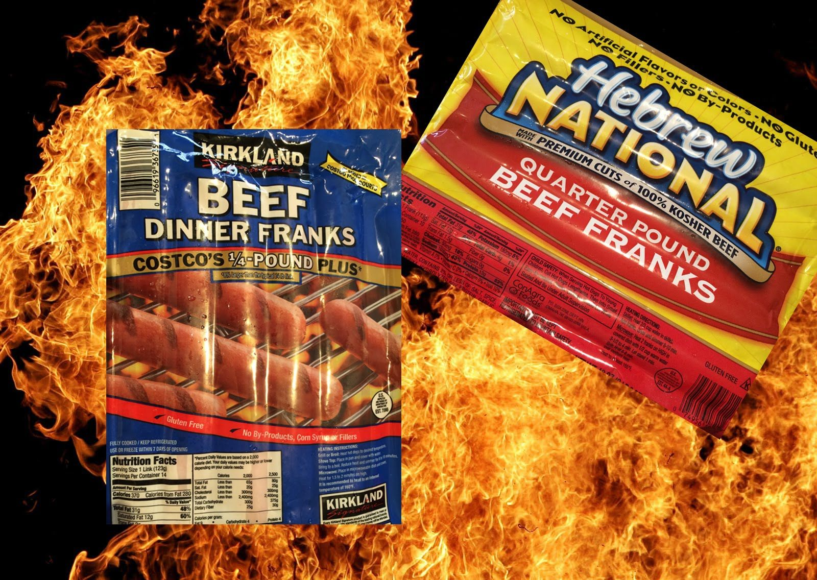 weenie war battle of the brands hot dog vs hot dog cooking show beef dinner weenie pinterest