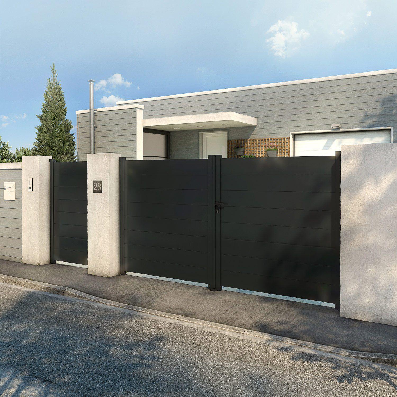 épinglé Par Renaud Biemans Sur Jardin Portail Aluminium