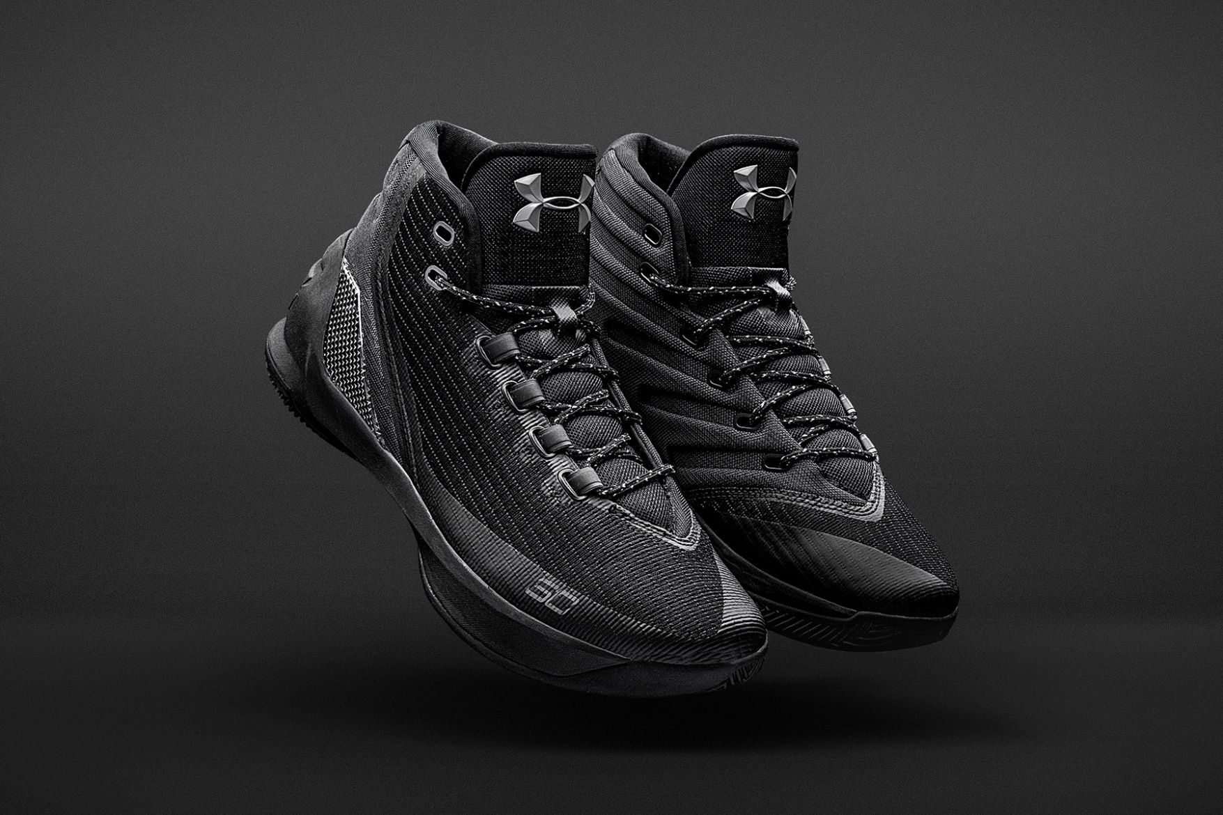 6d84240b19f Stephen Curry 最新戰靴 Under Armour Curry 3「Trifecta Black」配色 .
