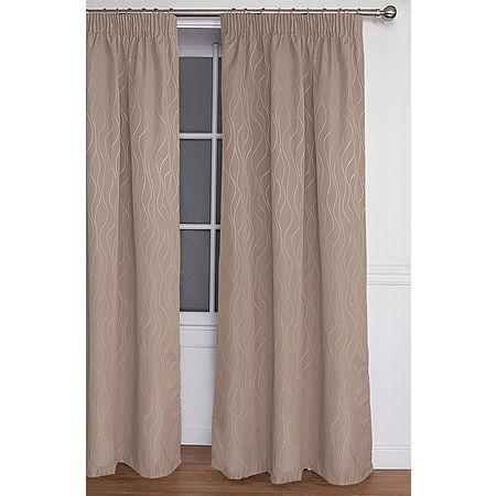 Living & Co Curtains Piha Taupe Jumbo 220cm Drop - Living & Co - Curtains - Curtains & Blinds - The Warehouse