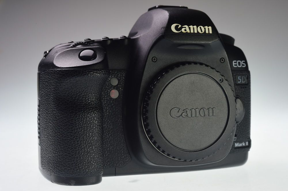 Canon Eos 5d Mark Ii Body 21 1mp Digital Camera Excellent Canon