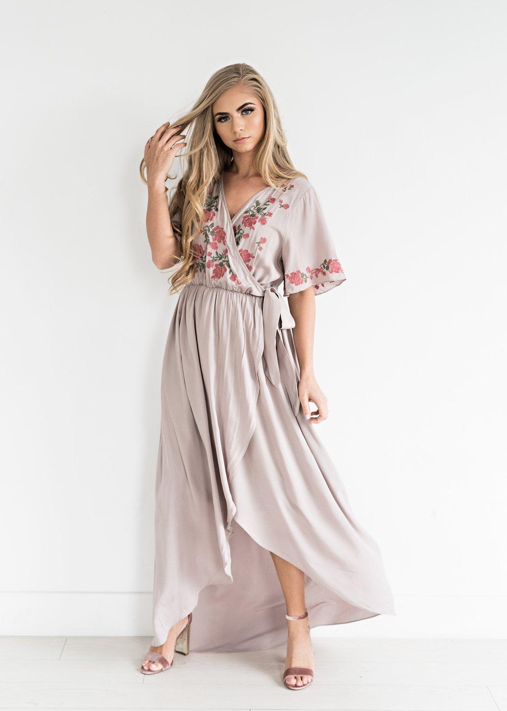 e2dcd225d49 Rosebuds and Romance Maxi Dress-JessaKae