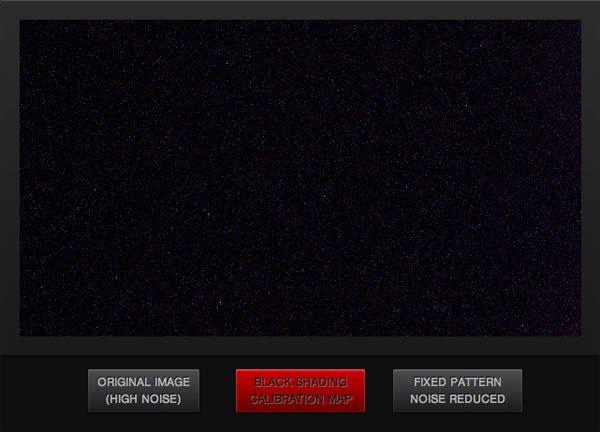 Red Digital Cinema Black Shading Calibration