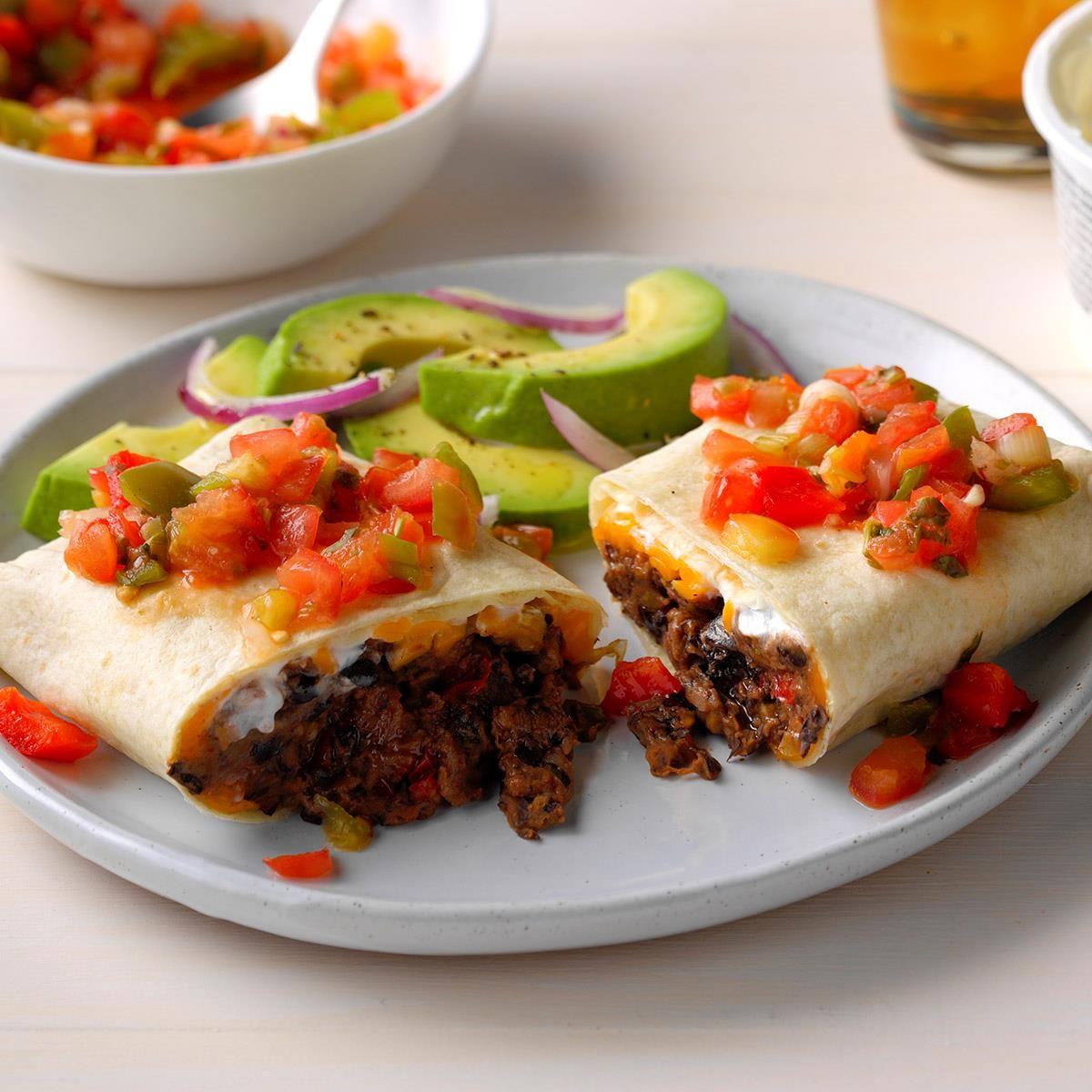 Cheddar bean burritos recipe bean burritos vegetarian
