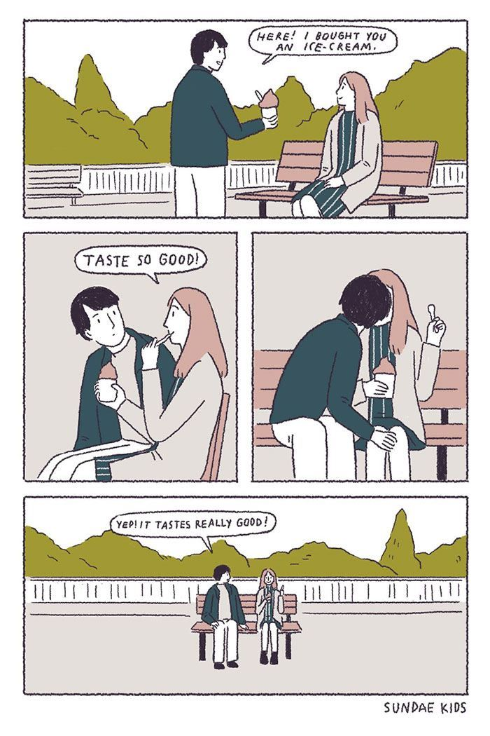 Best Funny Illustration 10 Illustrations Showing A Long-Lasting Relationship Comes From Constant Expressions Of Love Get ready for your heart strings to be tugged. 9