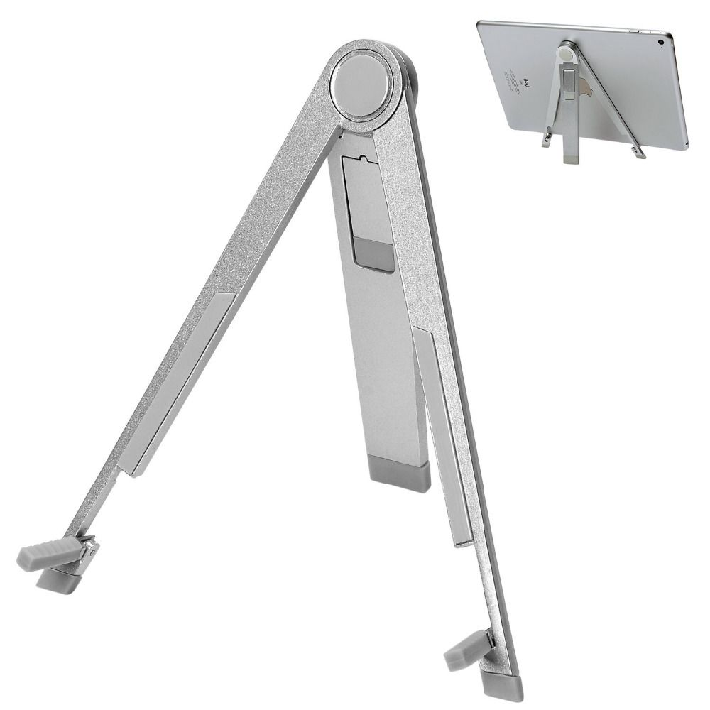 """Find More Holders & Stands Information about Universal 7 10"""" Adjustable Portable Folding For Ipad Mini Air vloerstandaard Stand Desk Tripod Aluminium beugel Tablet Holder,High Quality tablet,China tablet press single punch Suppliers, Cheap tablet pcs from Geek on Aliexpress.com"""