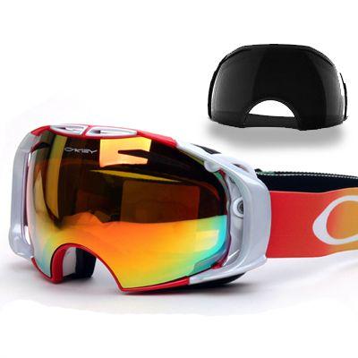 Asian version lenses skiing mirror double layer antimist ski eyewear the 24-hour lenses Ski Goggles Glasses