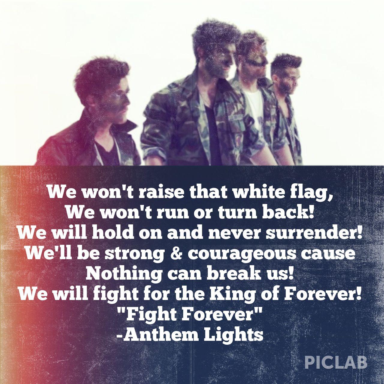 Fight Forever - Anthem Lights | Anthem Lights <3 | Anthem