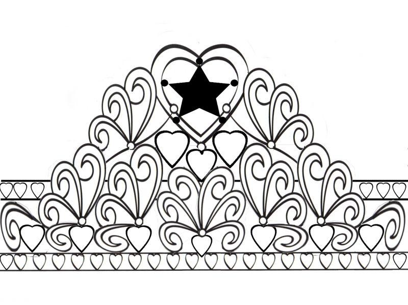 fondant princess crown template 61240 bitnote
