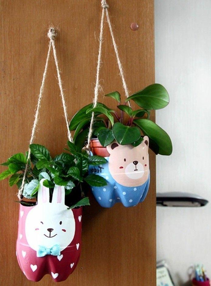 Que Faire Avec Des Bouteilles En Plastique 54 Super Idees De Reyclage Fleur En Plastique Bouteille Plastique Idees De Recyclage